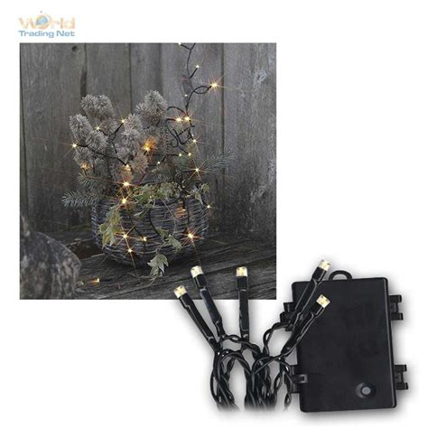 Outdoor Led Lights With Timer Battery Outdoor Led Light Chain Dura Mi Timer Lights Light Net Ebay