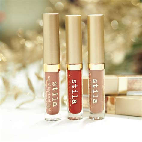 Stila Warm Fuzzy Lipstick Set gift guide best gifts from cult kasie