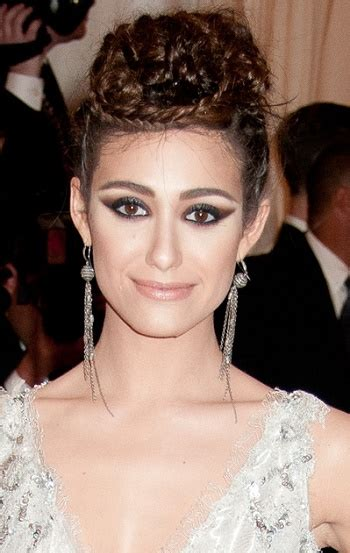 Emmy Trends Updos by Hairstyles Emmy Rossum Braided Updo Sophisticated