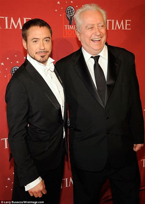 robert downey jrs father  hes proud   son