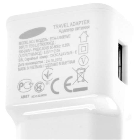 Travel Adapter Charger 5v 2 0a travel adapter charger 5v 2 0a for samsung galaxy note ii