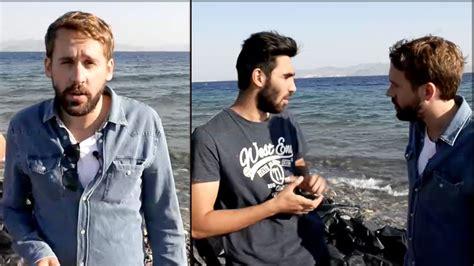 reporter decken auf kontakt bild reporter trifft syrische fl 252 chtlinge auf der