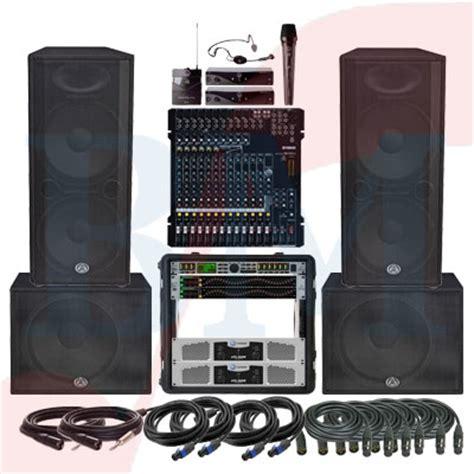 Paket Sound System Outdoor Dan Indoor 15 Inch Aktif Original paket semi outdoor professional paket sound system profesional indonesia