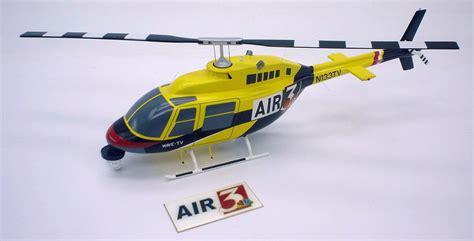 Handmade Helicopter Models - custom helicopter models corporate medevac