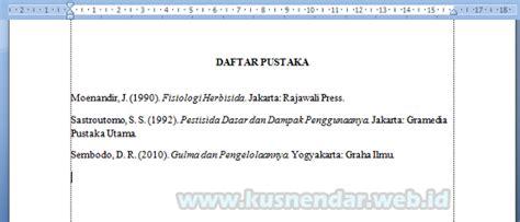 format penulisan daftar pustaka menurut apa contoh daftar pustaka esai contoh 37