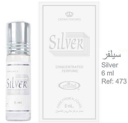 Jual Parfum Al Rehab Silver silver 6ml 2 oz perfume by alrehab