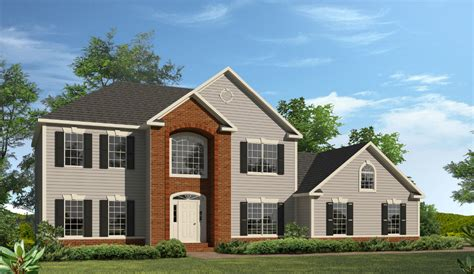 home story 2 springfield two story style modular homes