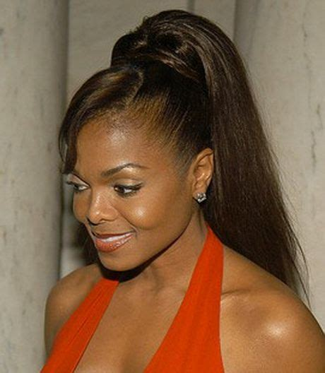 cute african american hairstyles with a bump ponytail hairstyles for black women ponytail hairstyles