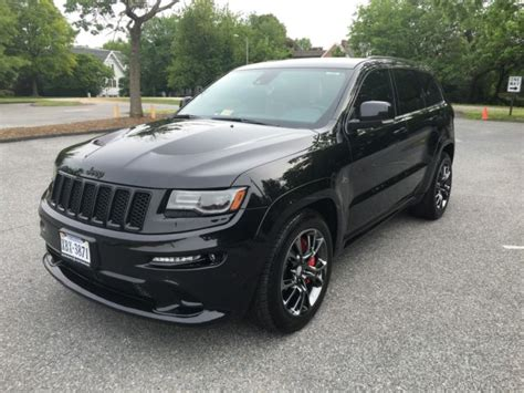 jeep grand blackout 1c4rjfdj7ec333120 2014 jeep srt8 black out package