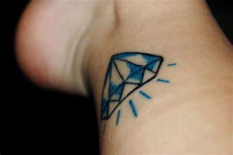 tattoo blue diamond meaning 30 attractive diamond tattoos creativefan