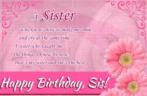 Happy Birthday Younger Wishes Birthday Wishes For Sister Archives Birthday Wishes