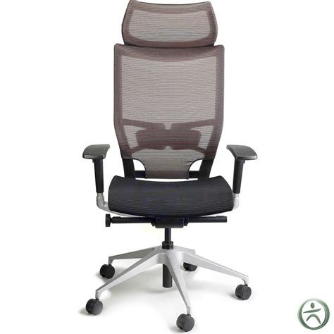Raynor Chair Raynor Nuvo Mesh Chair With Headrest Shop Mesh Chairs