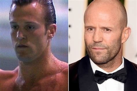 jason statham hair jason statham famous bald celebrities when they had hair