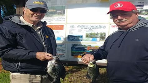 crappie fishing  speck fishing reports