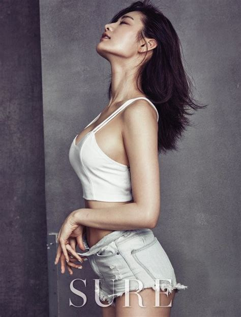 nana sexily shows some skin in sure shoot allkpop