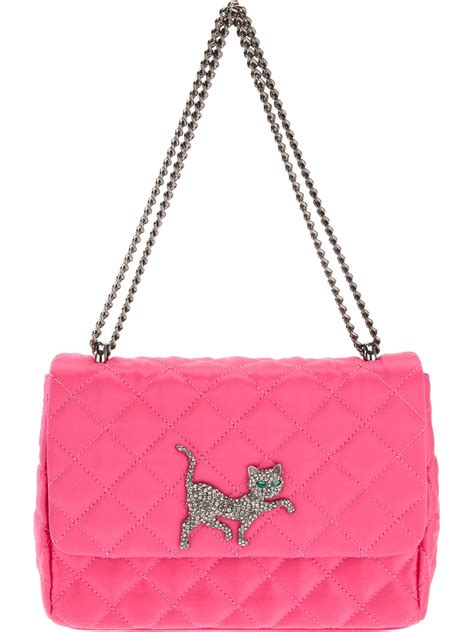 Cheap Quilted Bags by Moschino Cheap Chic Quilted Cat Bag In Pink Lyst