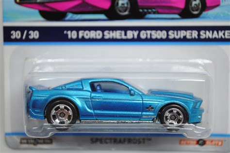 Hotwheels Cool Classics Ford Shelby Gt500 Snake bdr51 ford shelby gt500 snake 2010 cool classics wheels estantes