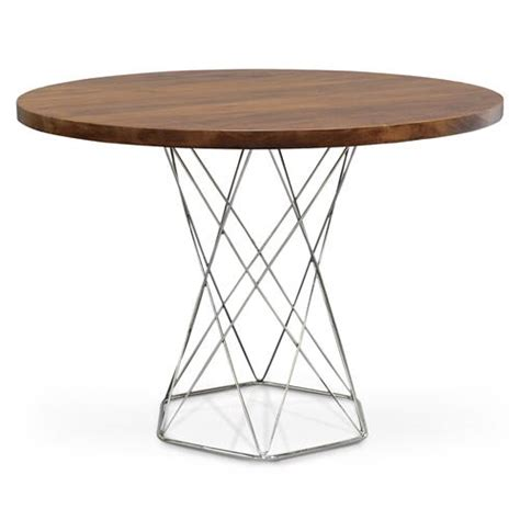 bistro dining table stockholm industrial modern solid wood dining bistro