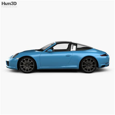porsche models 2016 porsche 911 targa 991 4s 2016 3d model hum3d