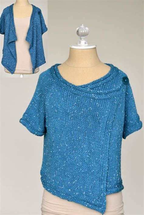 drape pattern free knitting pattern for drape front cardigan this