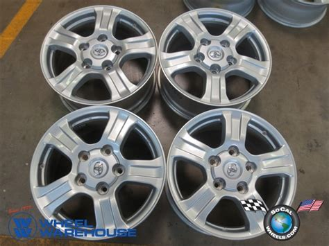 Toyota Tundra Factory Wheels Four 07 13 Toyota Tundra Factory 18 Quot Wheels Oem Rims 08 11
