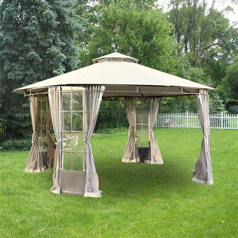 lowes patio gazebo patio gazebo lowes garden treasures 12 ft x 12 ft square