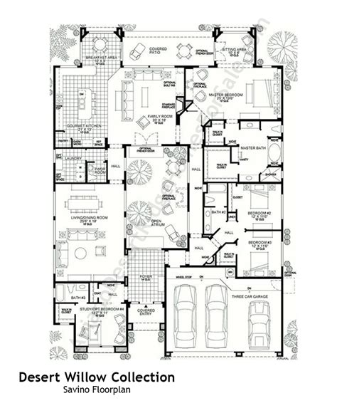 desert home floor plans house style ideas
