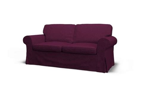 ikea purple couch ikea ektorp two seat sofa slipcover gaja pansy purple