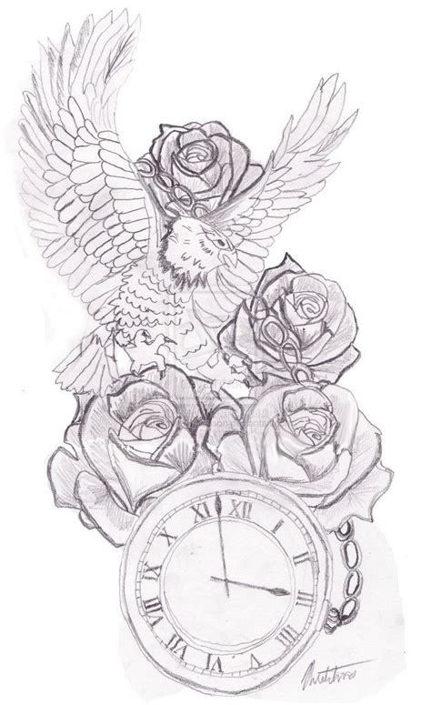 design my tattoo online collection of 25 free clock designs