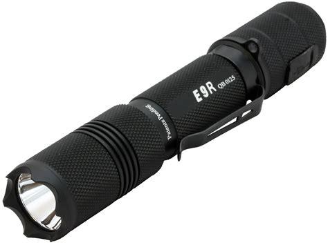 blue light led flashlight powertac e9r rechargeable led flashlight 1020 lumens