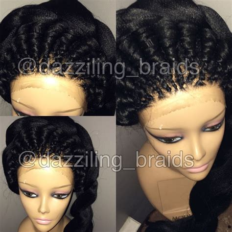 ghanaians wig styles 31 best images about lace front braid wig on pinterest