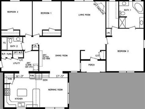 large modular home floor plans double wide modular home floor plans cottage house plans