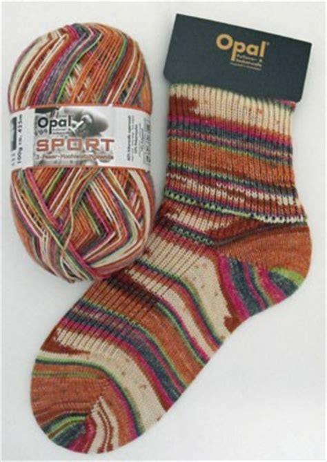 opal sport sock yarn wool plus free knitting pattern 100g