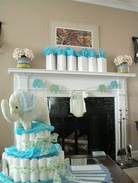 baby shower decorations elephant theme 17 best images about blue elephant themed baby shower on