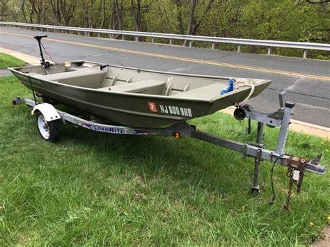 aluminum boat trailers prices jon boat 14 green aluminum crestliner with loadrite
