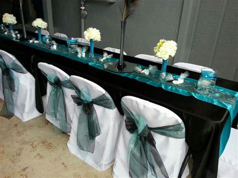 turquoise and black wedding wedding ideas wedding decorations wedding colors wedding