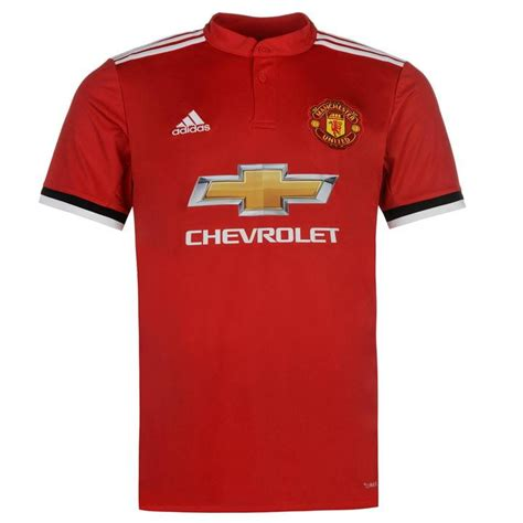 Jersey Manchester Unied Mu 1718 Home Adizero adidas adidas manchester united home jersey 2017 2018