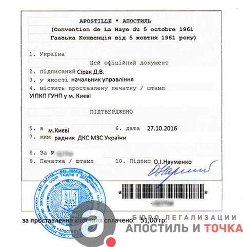 Non Conviction Criminal Record Apostille On The Certificate Of Non Conviction Kyiv And The Regions Of Ukraine From