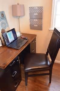 Desk With File Cabinet File Cabinet Desk Wall Files Craft Rooms