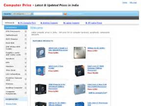 Computer Desktop Lowest Price In India Information About Computerprice In Computer Price List In