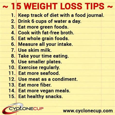 15 Tips On How To Your Weight by 15 Simple Weight Loss Tips Fitness Tips