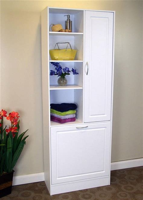 Bathroom Storages Bathroom Storage Cabinets With Doors Home Furniture Design