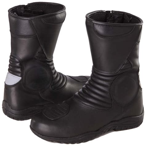 mens motorcycle touring boots modeka voyager pro men touring motorcycle boots leather