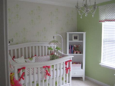 green and pink nursery vote project of the week
