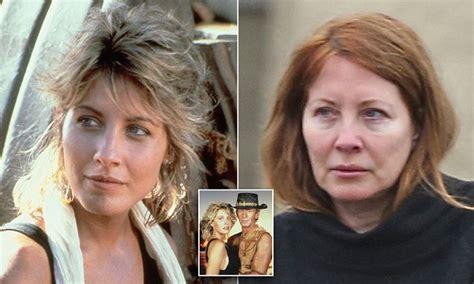 actress death july 2017 paul hogan s ex wife linda kozlowski looks unrecognisable