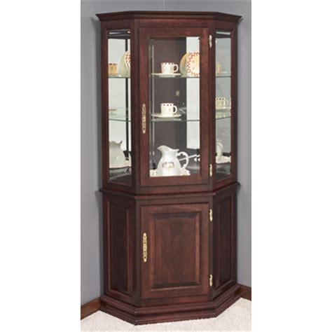 build  corner curio cabinet plans diy