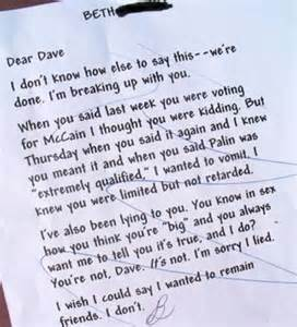 Funniest Break Letter Ever lol most hilarious breakups via letters and texts entertainment news