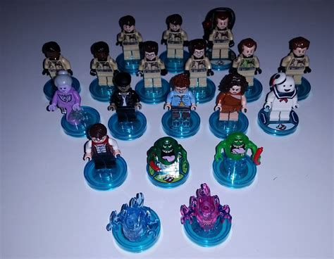 Lego Ghostbuster Minifigures Set Team The minifigure price guide look up the prices of all of your favorite minifigures