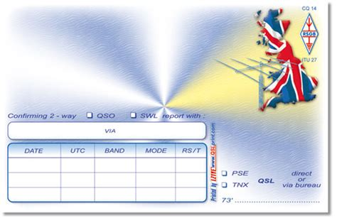 qsl card templates free print of all kinds of qsl cards