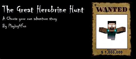 choose your own minecraft story the adventure 3 plunge into the nether books the great herobrine hunt a choose your own adventure